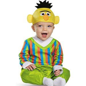 NWT Disguise Baby Boys' Bert Deluxe Infant Costume